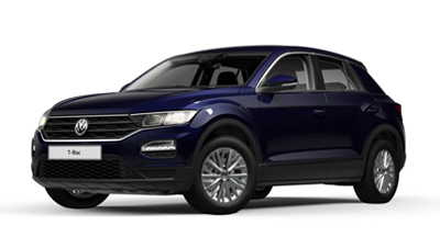 Volkswagen T-Roc - Available in Atlantic Blue Metallic