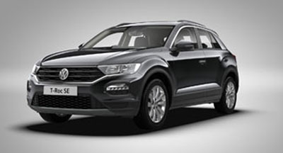Volkswagen T-Roc - Available in Black