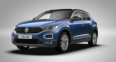 Volkswagen T-Roc - Available in Blue