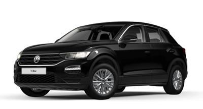 Volkswagen T-Roc - Available in Deep Black Pearl