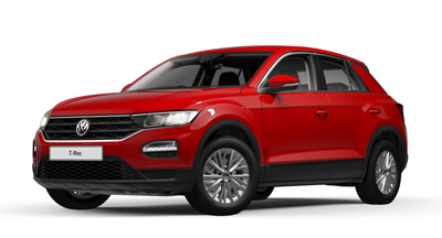 Volkswagen T-Roc - Available in Flash Red