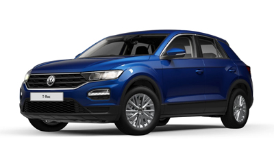 Volkswagen T-Roc - Available in Ravenna Blue Metallic