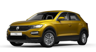 Volkswagen T-Roc - Available in Turmeric Yellow Metallic