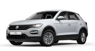 Volkswagen T-Roc - Available in White Silver Metallic