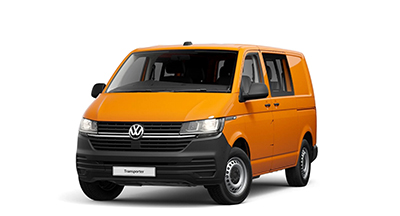 Volkswagen Transporter Kombi - Available In Bright Orange