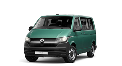 Volkswagen Transporter Shuttle - Available In Bay Leaf Green Metallic