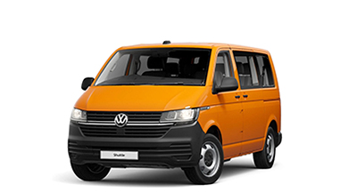Volkswagen Transporter Shuttle - Available In Bright Orange