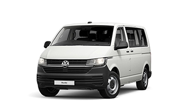 Volkswagen Transporter Shuttle - Available In Candy White