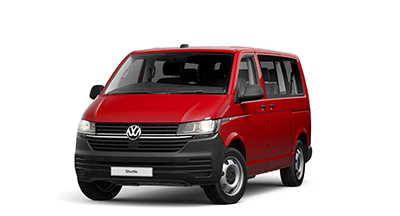 Volkswagen Transporter Shuttle - Available In Cherry Red