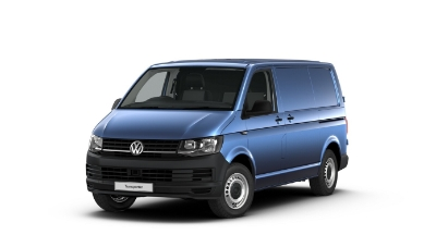 Volkswagen Transporter - Available In Alcapulco Blue
